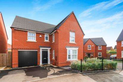 4 Bedrooms Detached House for sale in Chippenham Close, Wellingborough, Northamptonshire