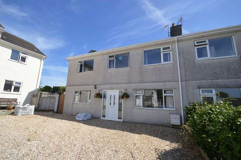 4 Bedrooms Semi Detached House for sale in Dennison Avenue, St. Austell