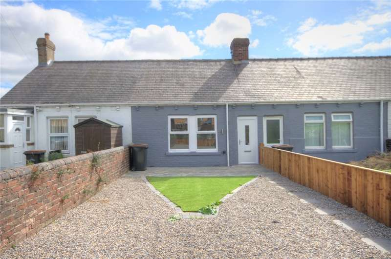 2 Bedrooms Terraced Bungalow for sale in Westview Terrace, Greencroft, Stanley, DH9
