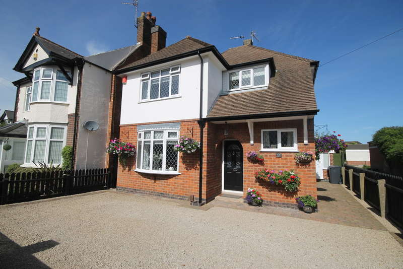 3 Bedrooms Detached House for sale in De Montfort Road , Hinckley