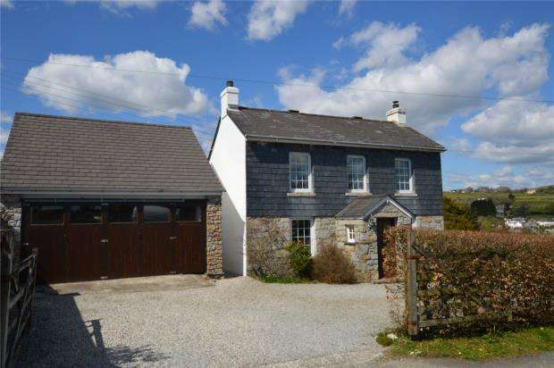 3 Bedrooms Detached House for sale in The Cottage, Shop Park, Lower Tremar, Liskeard