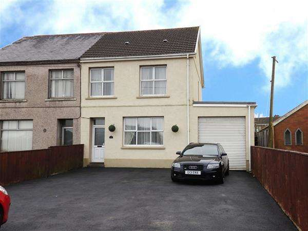 4 Bedrooms Semi Detached House for sale in Heol-Y-Bryn, TUMBLE, Llanelli