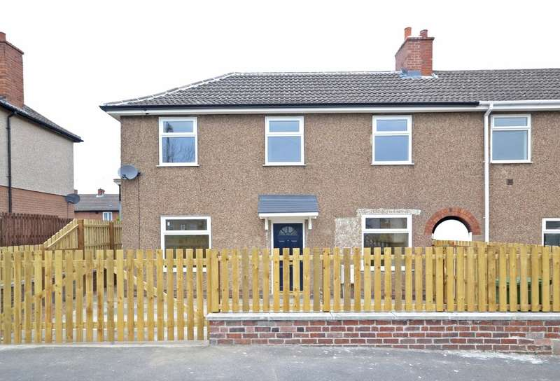 3 Bedrooms Semi Detached House for sale in Crescent Road, Havercroft, Wakefield