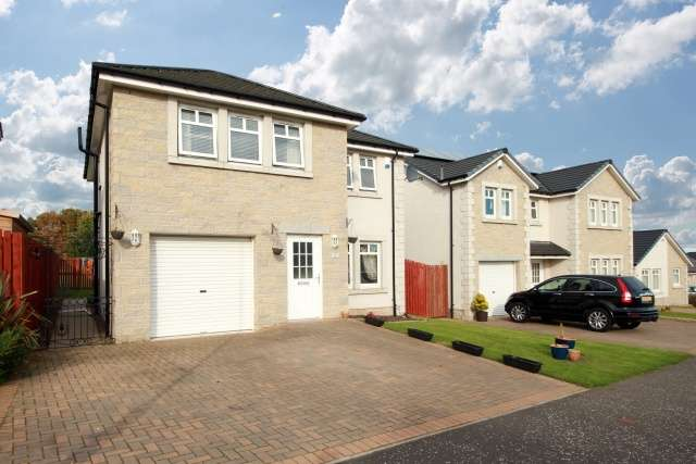 4 Bedrooms Detached House for sale in Boswell Knowe, Lochgelly, Fife, KY5 9HS