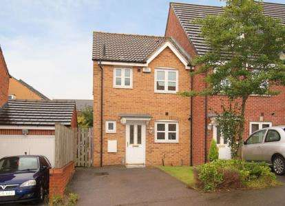 3 Bedrooms End Of Terrace House for sale in Myrtle Drive, Sheffield, South Yorkshire