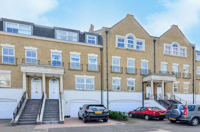 4 Bedrooms Terraced House for sale in Clearwater Place, Long Ditton, KT6