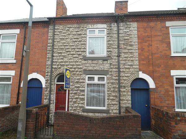 2 Bedrooms Terraced House for sale in Bishop Street, Eastwood, Nottingham
