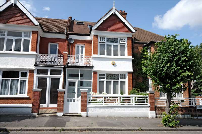 5 Bedrooms Terraced House for sale in Crescent Gardens, London, SW19