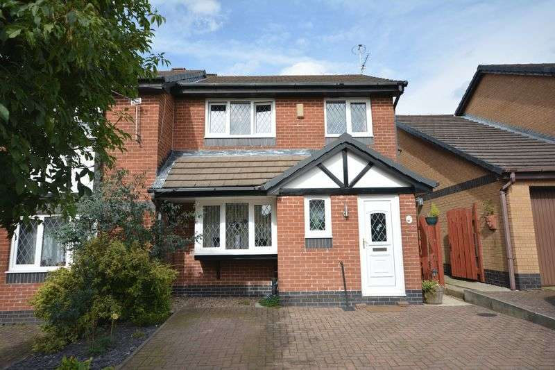 3 Bedrooms Semi Detached House for sale in Abbott Clough Close, Knuzden