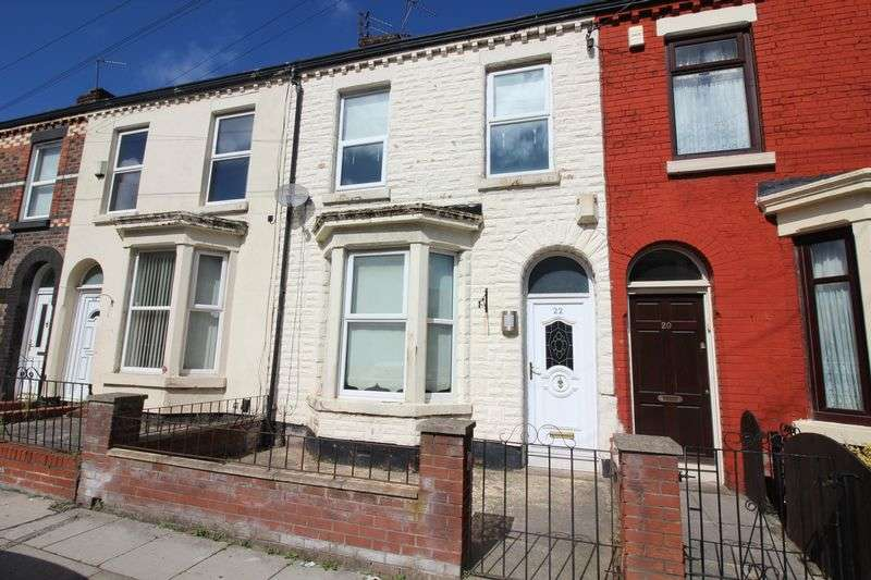 3 Bedrooms Terraced House for sale in Chepstow Street, Liverpool