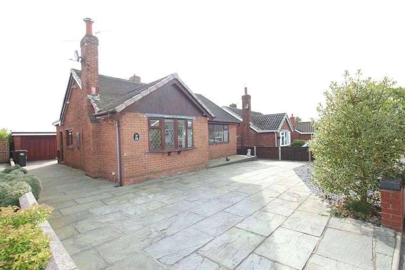 3 Bedrooms Detached Bungalow for sale in Menai Drive, Biddulph