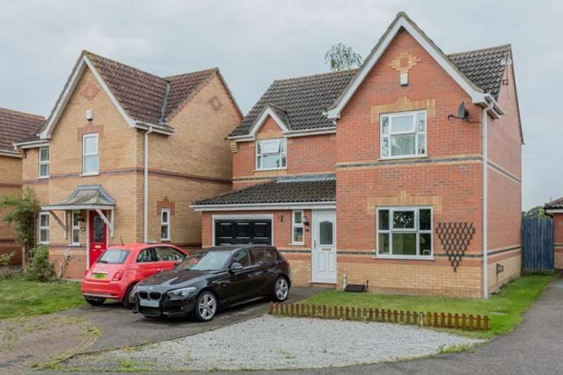 4 Bedrooms Detached House for sale in Sunderland Close, Lincoln, Lincolnshire, LN6
