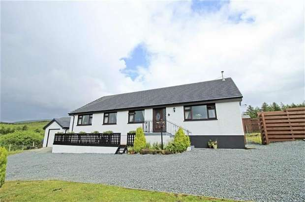 4 Bedrooms Detached House for sale in Achachork, Portree, Highland