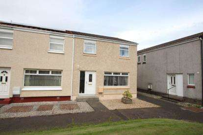 3 Bedrooms End Of Terrace House for sale in Russell Place, Linwood, Paisley, Renfrewshire
