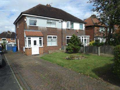3 Bedrooms Semi Detached House for sale in Garthland Road, Hazel Grove, Stockport, Cheshire