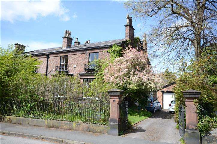5 Bedrooms Semi Detached House for sale in Knowsley Road, Cressington Park, Liverpool, L19