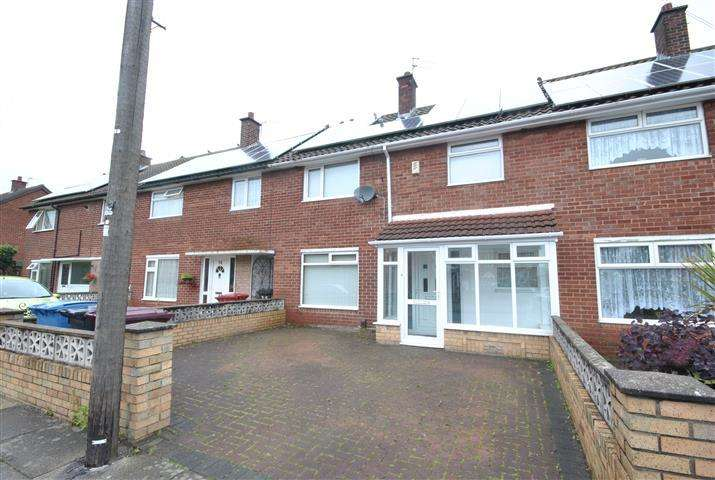 3 Bedrooms Terraced House for sale in Hornbeam Road, Halewood, Liverpool, L26