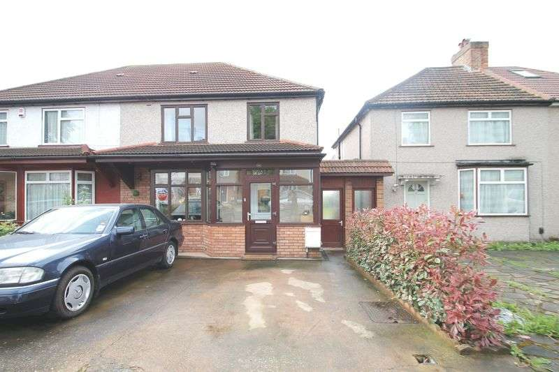 3 Bedrooms Semi Detached House for sale in Halsbury Road West, Northolt, Middlesex