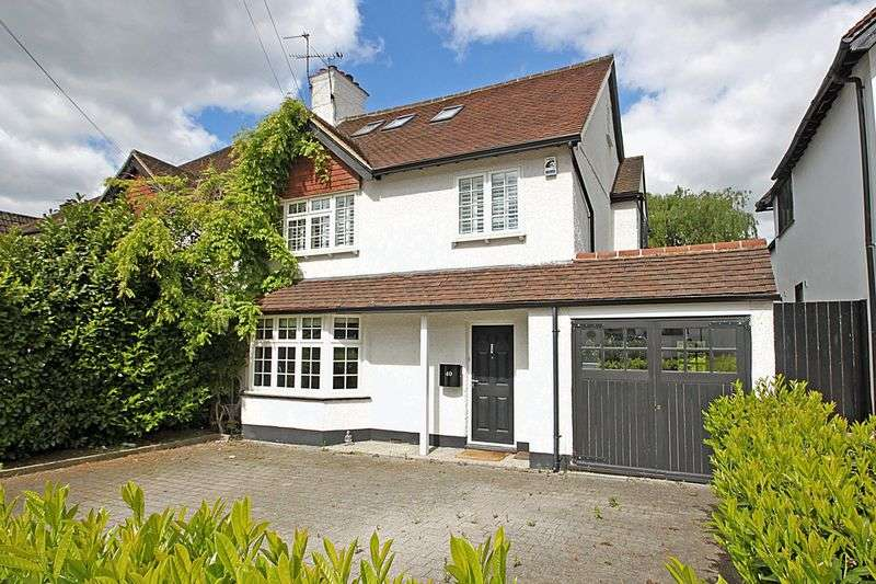 5 Bedrooms Semi Detached House for sale in The Uplands, Loughton