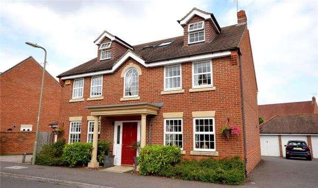 6 Bedrooms Detached House for sale in 8 Harrow Road, Elvetham Heath, Hampshire, GU51 1JD