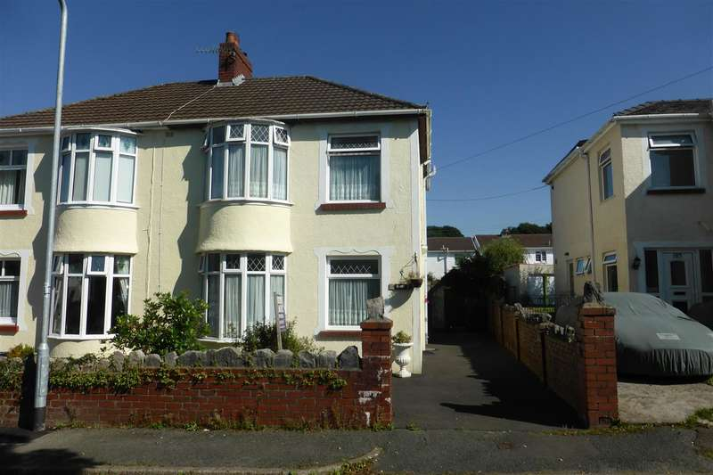Semi Detached House for sale in 185 Main Road, Bryncoch, Neath