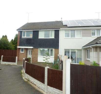 3 Bedrooms Semi Detached House for sale in Bernsdale Close, Sandycroft, Deeside, Flintshire, CH5