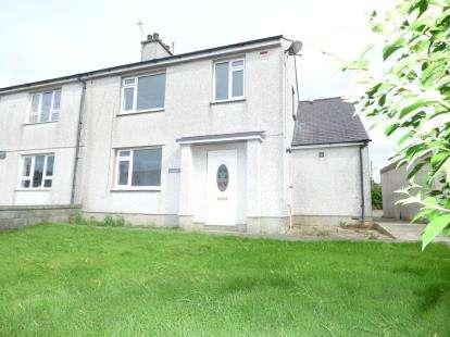 4 Bedrooms Semi Detached House for sale in Bro Mynydd, Bryngwran, Holyhead, Sir Ynys Mon, LL65