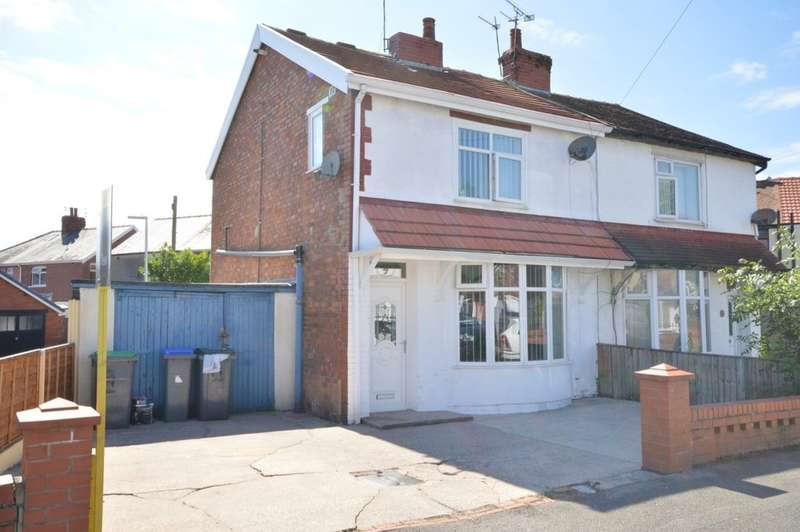 2 Bedrooms Semi Detached House for sale in Ellesmere Road, South Shore