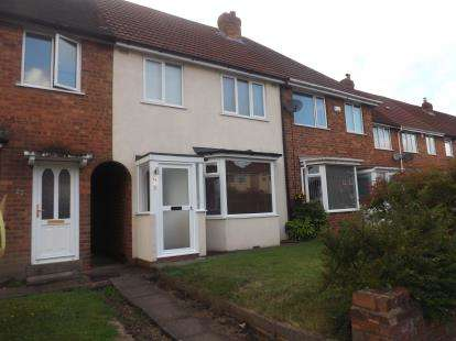 3 Bedrooms Terraced House for sale in Clinton Road, Solihull, West Midlands, England
