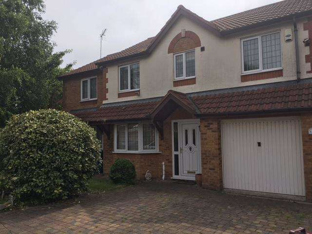 5 Bedrooms Detached House for sale in Balmoral Way, Prescot, Merseyside, L34