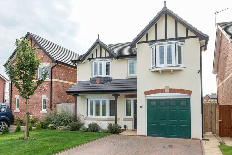 4 Bedrooms Detached House for sale in Etherley Drive, Newton-le-Willows, Merseyside, WA12