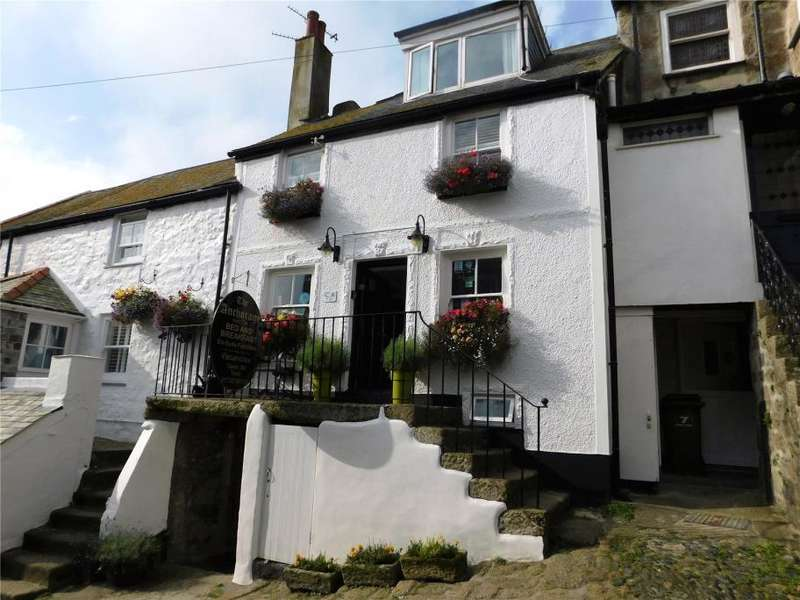 4 Bedrooms Terraced House for sale in Bunkers Hill, St Ives, Cornwall