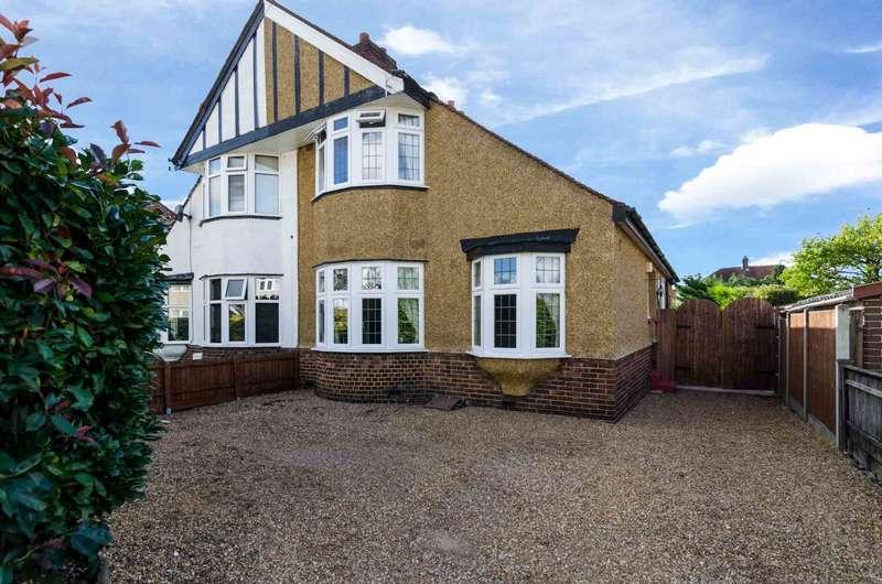 3 Bedrooms Semi Detached House for sale in Steynton Avenue, Bexley, DA5 3HP