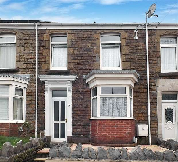 3 Bedrooms Terraced House for sale in Manselton Road, Manselton, Swansea, West Glamorgan