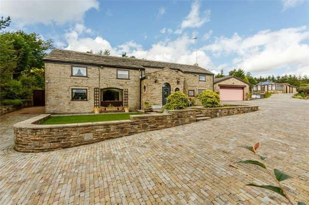5 Bedrooms Detached House for sale in Sliven Clod Road, Rossendale, Lancashire