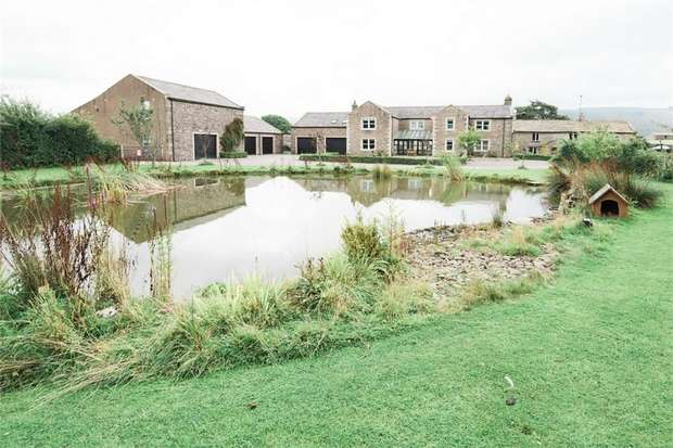4 Bedrooms Detached House for sale in Wharton, Kirkby Stephen, Cumbria