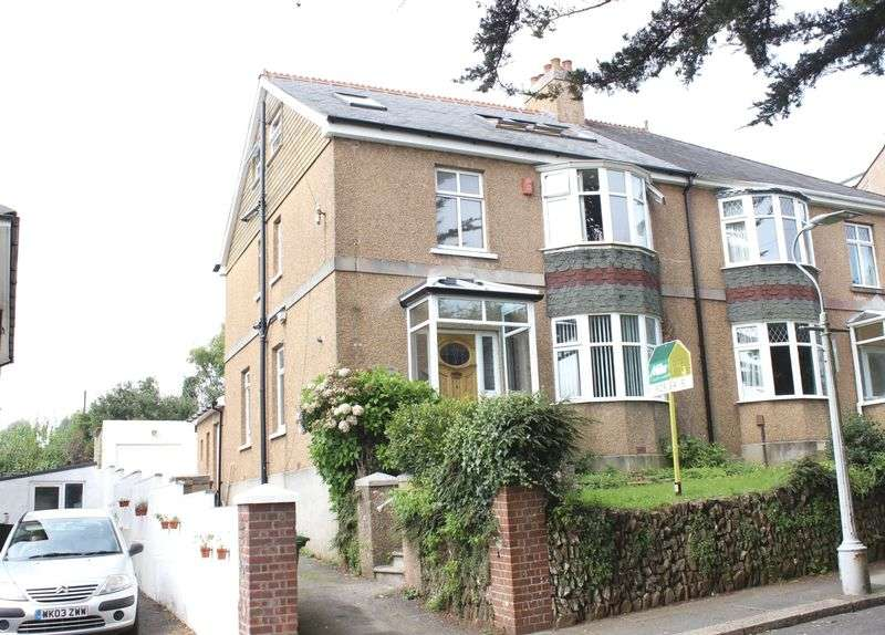 4 Bedrooms Semi Detached House for sale in Cranmere Road, Higher Compton, Plymouth