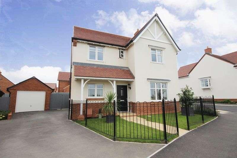 4 Bedrooms Detached House for sale in GREAT AMBER WAY, AMESBURY, SP4