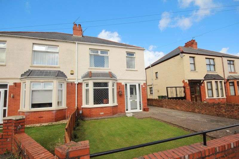 3 Bedrooms Semi Detached House for sale in Norbury Avenue, Fairwater