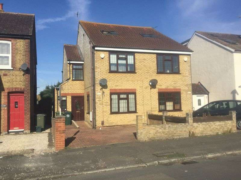 4 Bedrooms Semi Detached House for sale in Stanwell New Road, Staines-Upon-Thames