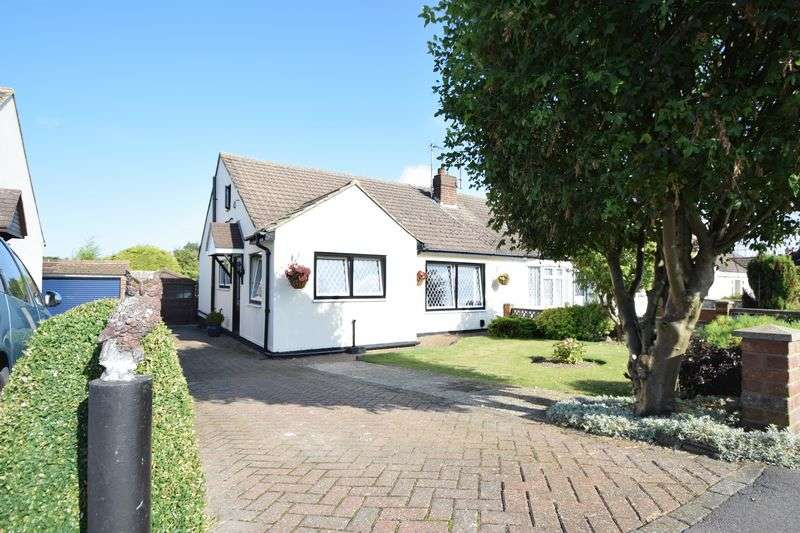 3 Bedrooms Semi Detached Bungalow for sale in The Furrows, Luton