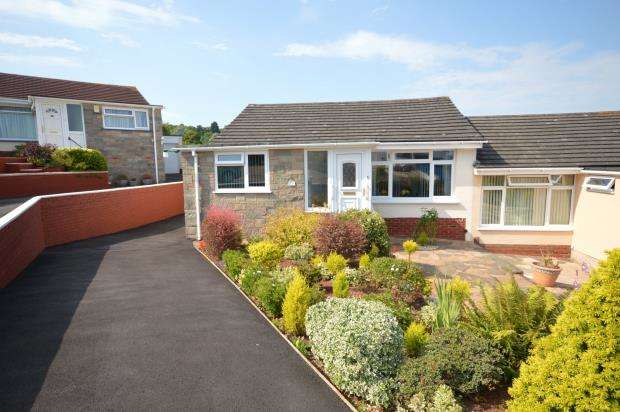 2 Bedrooms Semi Detached Bungalow for sale in High Meadows, Exeter, Devon