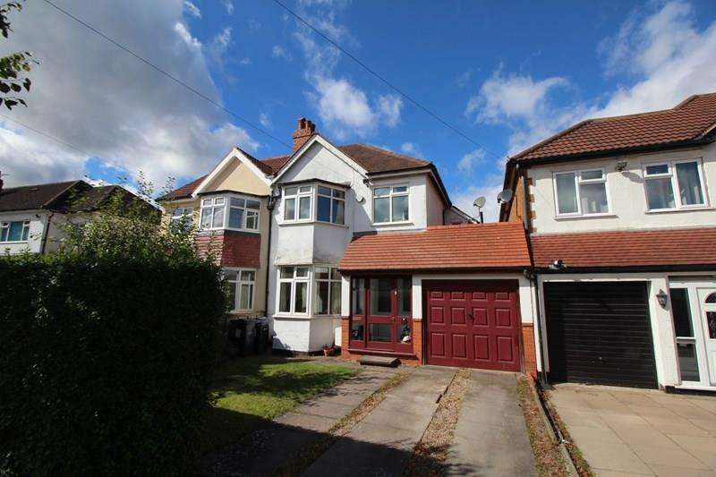 3 Bedrooms Semi Detached House for sale in Bushmore Road, Hall Green, Birmingham