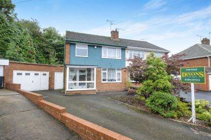 3 Bedrooms Semi Detached House for sale in Greenoak Crescent, Bilston, West Midlands, Greenoak Crescent