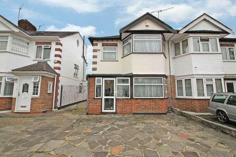 3 Bedrooms Semi Detached House for sale in Deynecourt Gardens, Wanstead