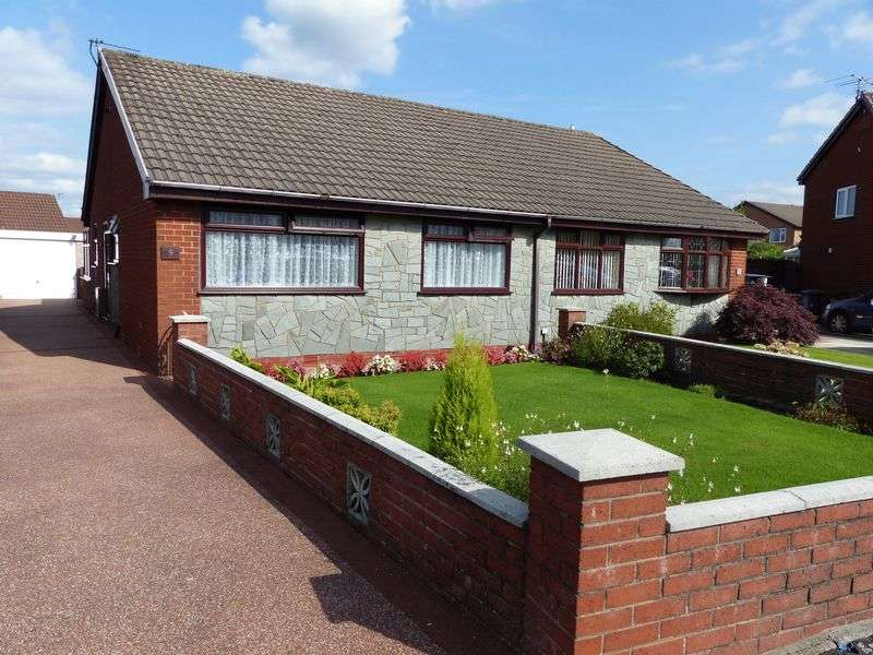 2 Bedrooms Semi Detached Bungalow for sale in 9 Netherley Road, Coppull, PR7 5EH