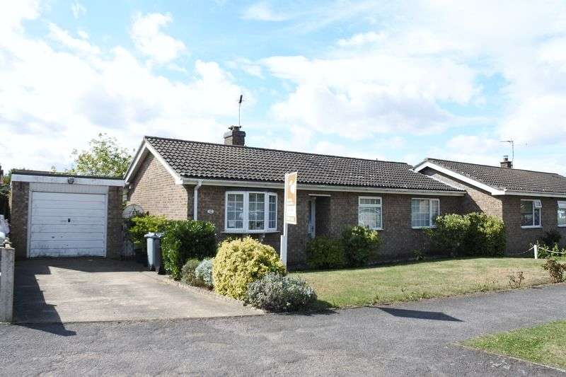 3 Bedrooms Semi Detached Bungalow for sale in Mercia Drive, Ancaster, Grantham