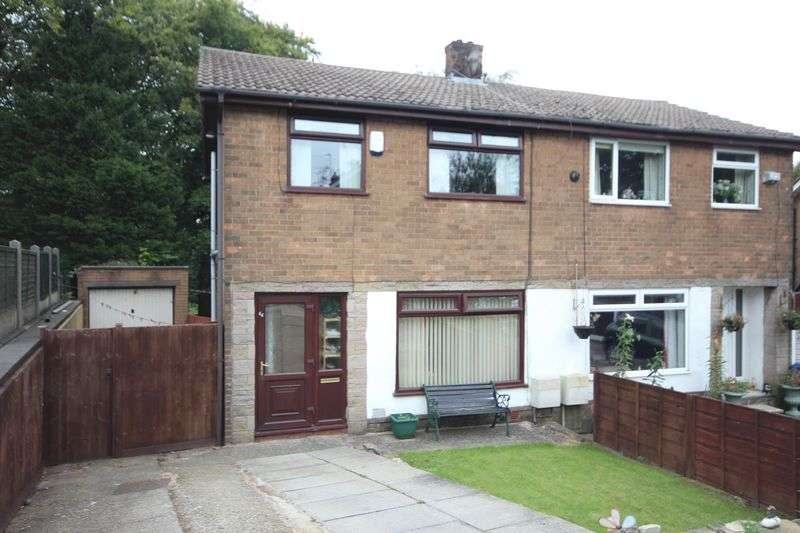 3 Bedrooms Semi Detached House for sale in MOUNTAIN ASH, Rooley Moor, Rochdale OL12 7JF