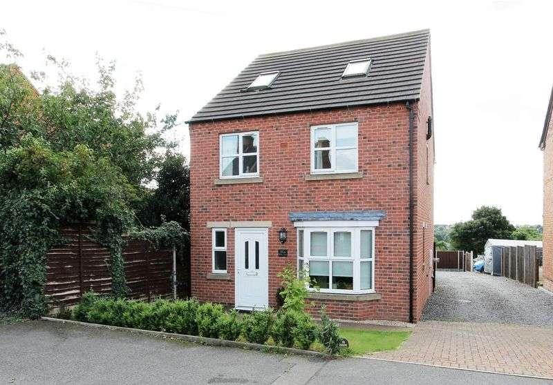 5 Bedrooms Detached House for sale in 40A Ashby Road, Donisthorpe, Derbyshire DE12 7QG