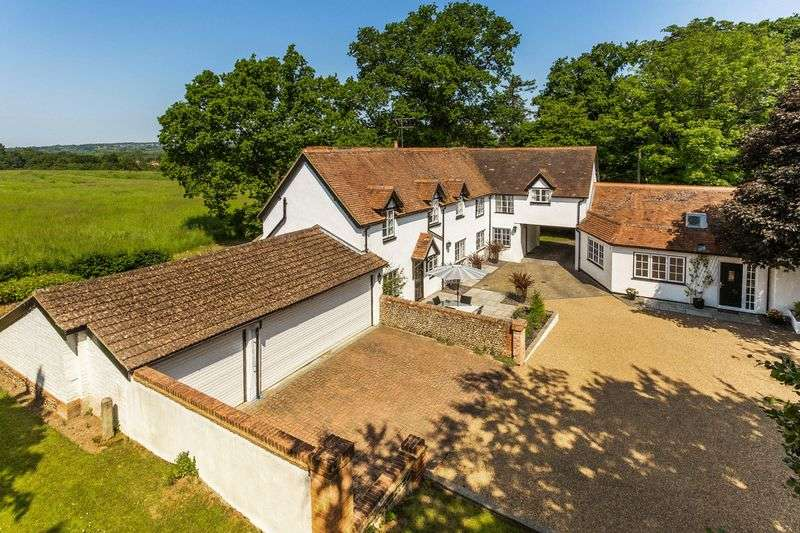 5 Bedrooms Detached House for sale in Guildford Road, Farnham